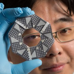 Origami ninja star inspires battery design
